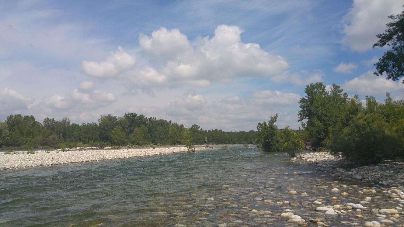 Blick Flussaufwärts