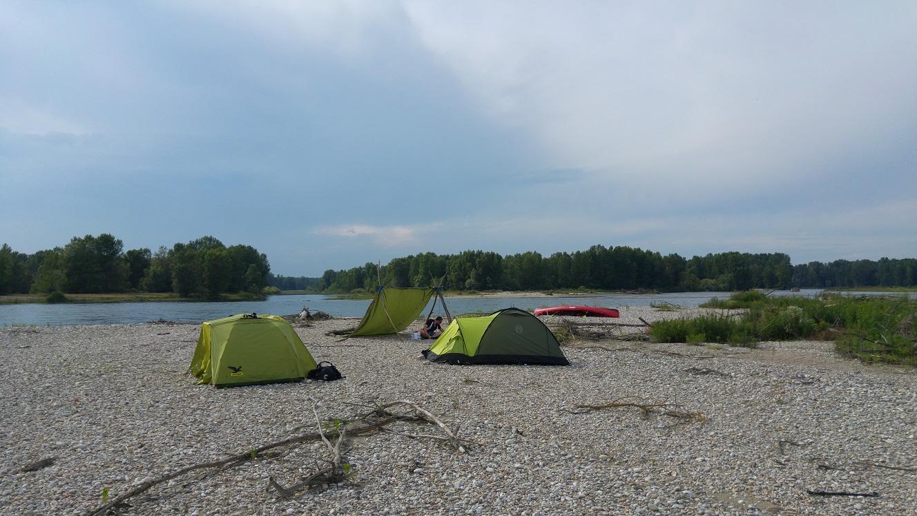 Das Camp für die dritte Nacht