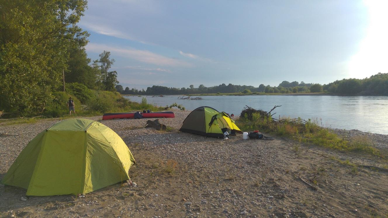 Das Camp der letzten Nacht